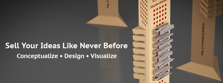 Sell Your Ideas Like Never Before. Conceptualize • Design • Visualize