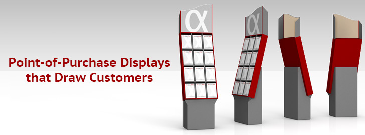 Point-of-Purchase Displays that Draw Customers