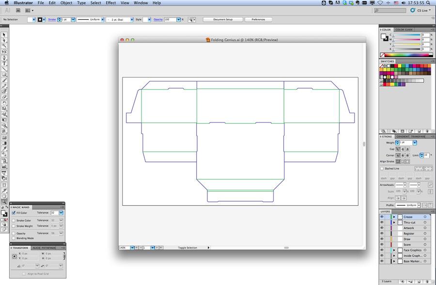 CAD for Display, Packaging & Steel Rule Die Design • AlphaCorr