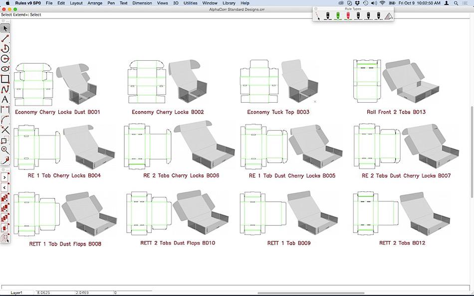Cad For Display Packaging Amp Steel Rule Die Design